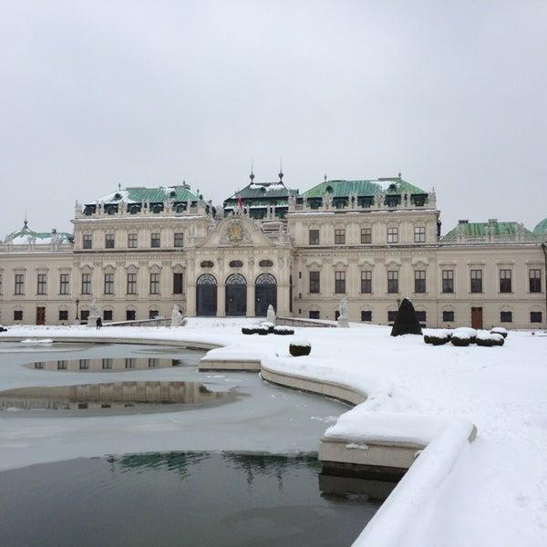 2/14/2013 tarihinde Denis S.ziyaretçi tarafından Oberes Belvedere'de çekilen fotoğraf