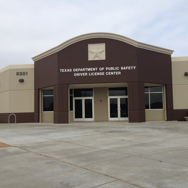 Texas Department Of Public Safety Drivers License Center