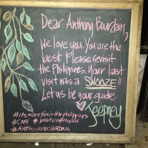 Foto tomada en Jeepney Filipino Gastropub por Yuko el 6/23/2013