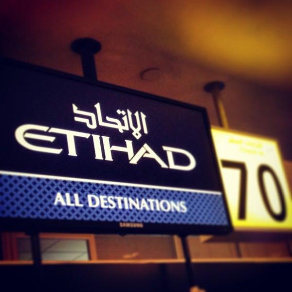 Photo prise au Abu Dhabi International Airport (AUH) par Abdulla M. le1/27/2013