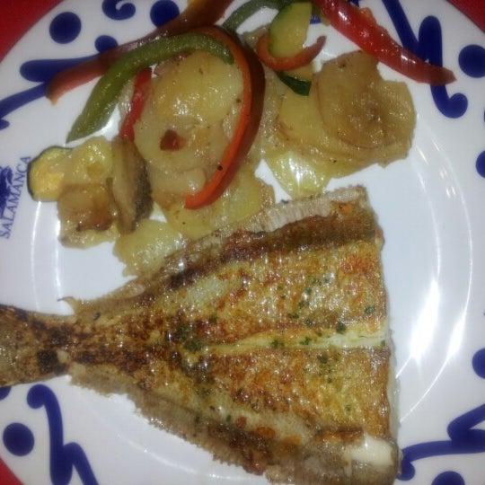 Das Foto wurde bei Restaurante Salamanca von MERITXELL B. am 1/25/2013 aufgenommen