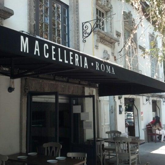 Das Foto wurde bei Macelleria von Olliver V. am 12/3/2012 aufgenommen