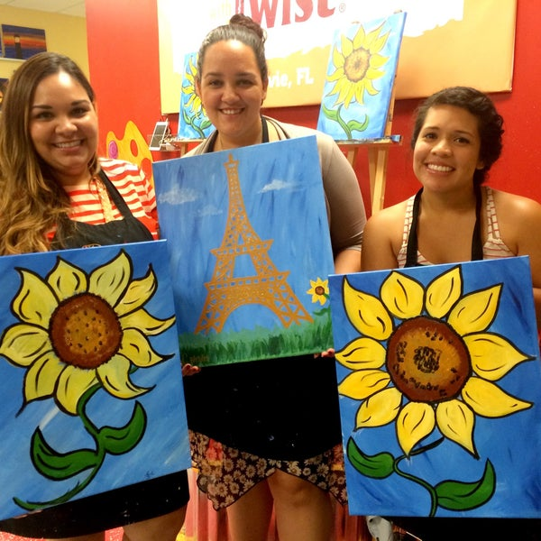 Photos At Painting With A Twist Davie Fl