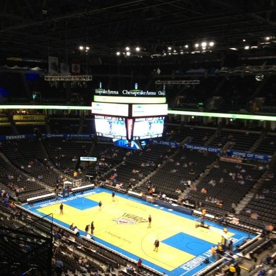 Das Foto wurde bei Chesapeake Energy Arena von John am 10/16/2012 aufgenommen