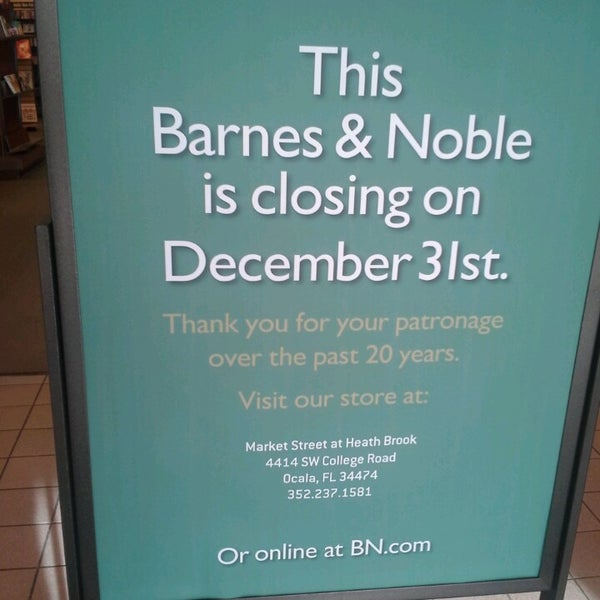 Barnes Noble Now Closed Gainesville Fl