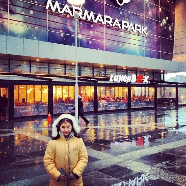 Снимок сделан в Marmara Park пользователем Yana 2/11/2013