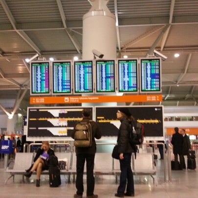 11/21/2012에 Artur Ł.님이 바르샤바 쇼팽 공항 (WAW)에서 찍은 사진