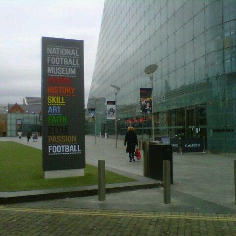 11/14/2012 tarihinde M.Emreziyaretçi tarafından National Football Museum'de çekilen fotoğraf