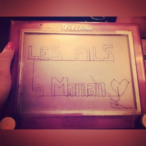 Foto diambil di Les Fils à Maman oleh Raphaelle D. pada 8/2/2014