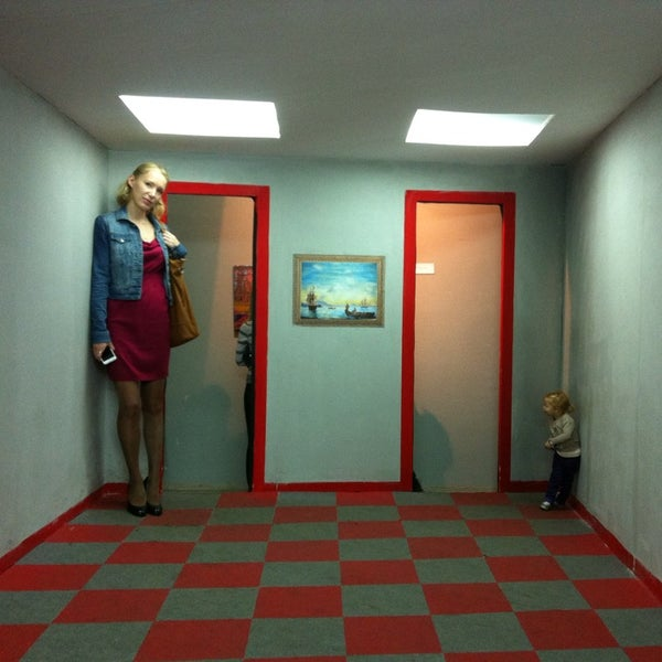 комната эймса спб фото планируете