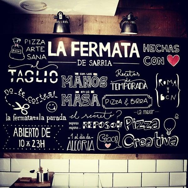 รูปภาพถ่ายที่ La Fermata de Sarrià โดย Carlos P. เมื่อ 5/23/2013