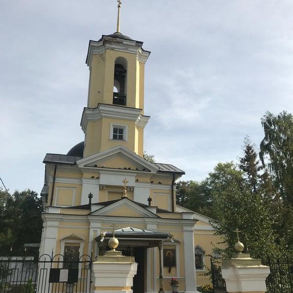 фотография церкви в болшево московской области проявление заболевания
