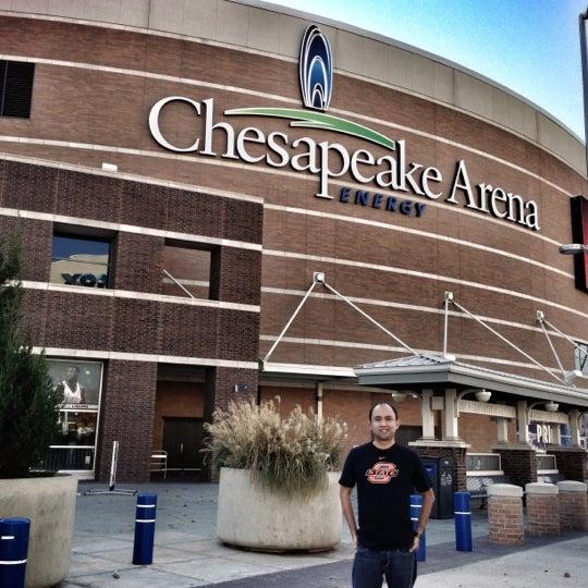 Das Foto wurde bei Chesapeake Energy Arena von Jim Patrick O. am 11/22/2012 aufgenommen