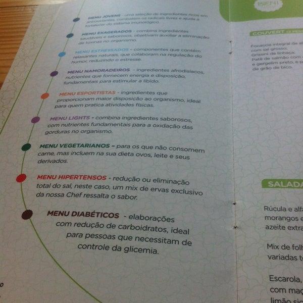 Foto diambil di Bien! Gastronomia Funcional oleh Mariana pada 2/1/2014