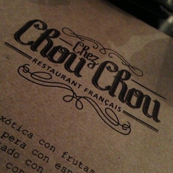 Foto diambil di Chez Chouchou oleh Rudy pada 4/25/2013