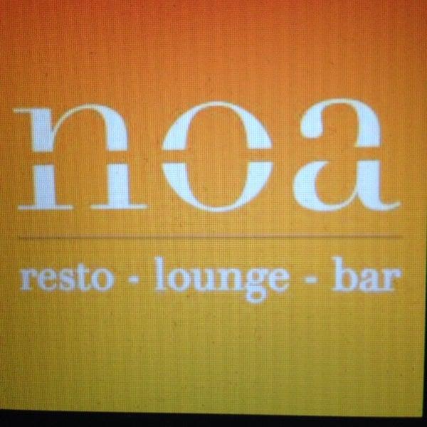 Photo prise au Noa Resto-Lounge-Bar par Wira L. le11/25/2013