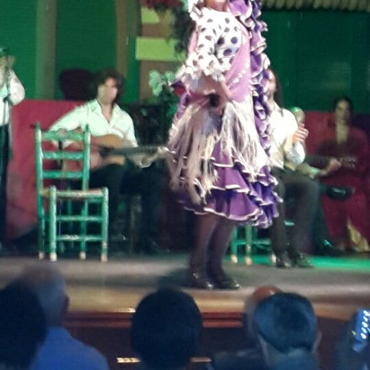 Foto tomada en Tablao Flamenco El Palacio Andaluz por Zubeyde&Erdem el 7/3/2013