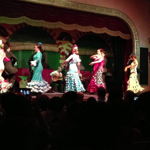 Foto tomada en Tablao Flamenco El Palacio Andaluz por บอร์นทูบี ณ. ก. el 4/14/2013