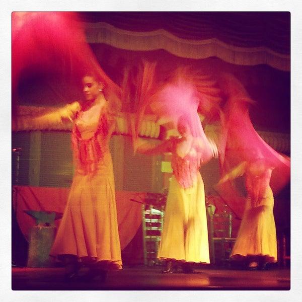 Foto tomada en Tablao Flamenco El Palacio Andaluz por Dmitriy K. el 4/9/2013
