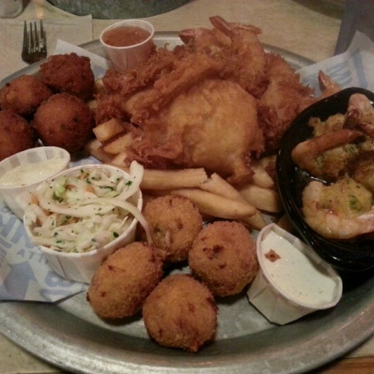 from Remy joe crab shack big hook up platter