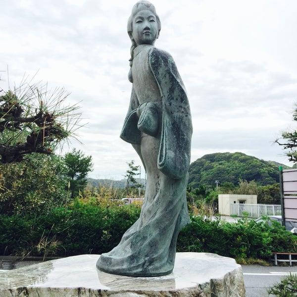 見返り美人像 菱川師宣記念館