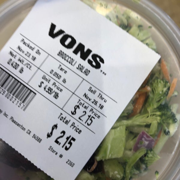 VONS - Grocery Store in Ivey Ranch - Rancho Del Oro