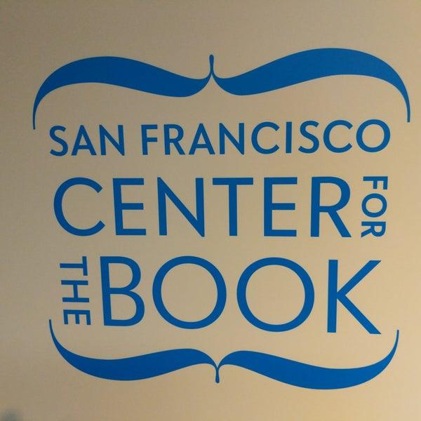 Photo prise au SF Center for the Book par Joe 🐘 L. le10/11/2018