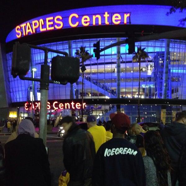 11/11/2013 tarihinde Tony P.ziyaretçi tarafından STAPLES Center'de çekilen fotoğraf