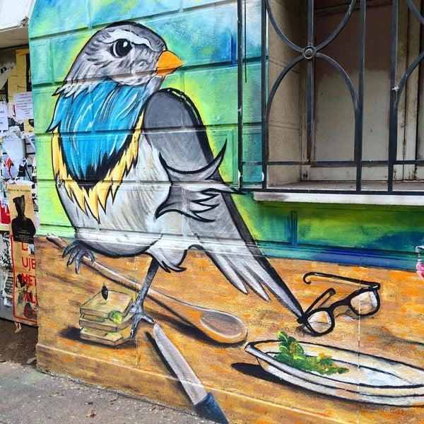 Снимок сделан в Paseo Barrio Lastarria пользователем Rubén M. 8/11/2015