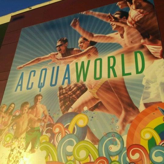 Foto tomada en Acquaworld - Fun, Fit & Spa por Alessandra G. el 1/3/2013