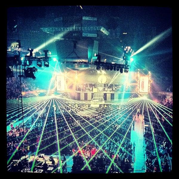10/18/2012 tarihinde Vincent P.ziyaretçi tarafından Northlands Coliseum'de çekilen fotoğraf