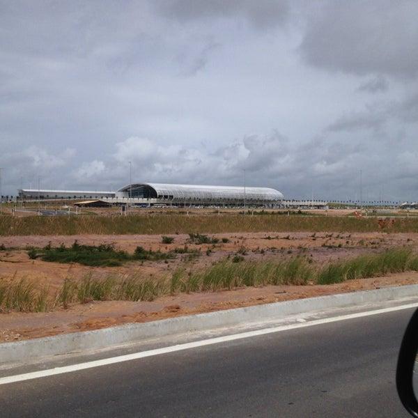 Снимок сделан в Aeroporto Internacional de Natal / São Gonçalo do Amarante (NAT) пользователем Flavio G. 7/22/2014