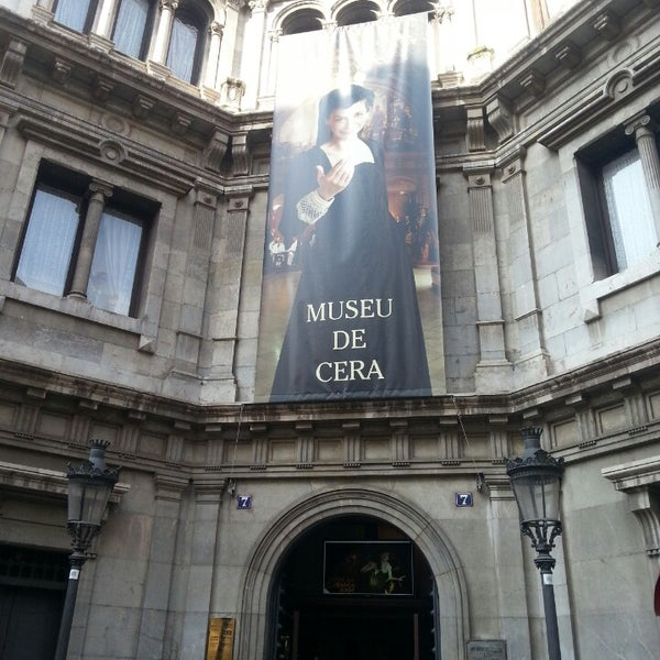 7/3/2013にToni S.がMuseu de Cera de Barcelonaで撮った写真