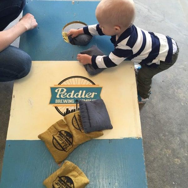 Снимок сделан в Peddler Brewing Company пользователем Keith N. 4/30/2015