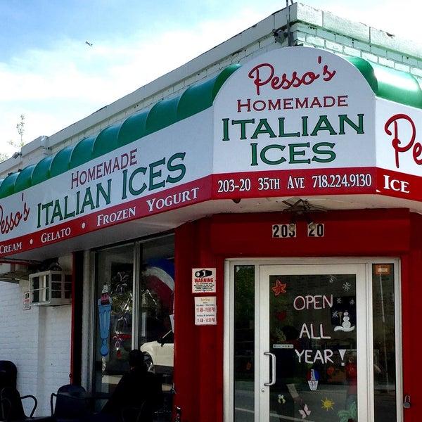 Photo prise au Pesso's Ices & Ice Cream par Pesso's Ices & Ice Cream le7/29/2016