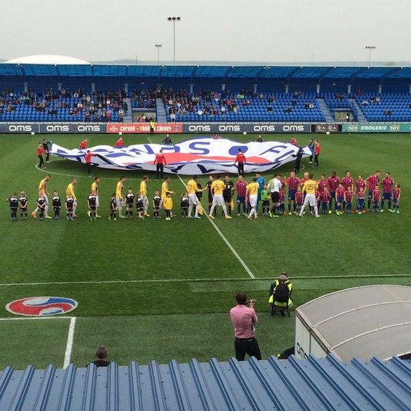 Foto tirada no(a) Štadión FK Senica por Pavel S. em 4/5/2014