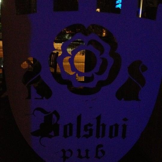 11/14/2012 tarihinde Allysson Falconziyaretçi tarafından Bolshoi Pub'de çekilen fotoğraf
