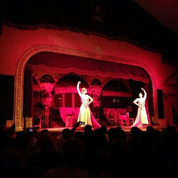 Foto tomada en Tablao Flamenco El Palacio Andaluz por yeohyc el 4/23/2013