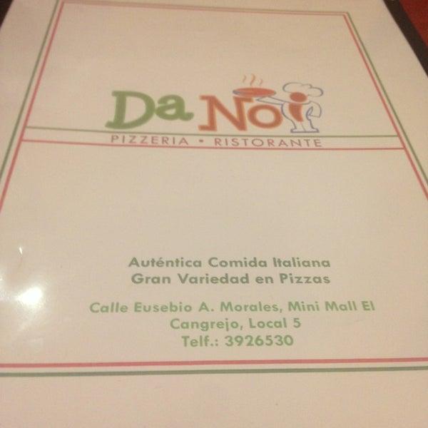 Foto tomada en Da Noi Pizzeria Ristorante por Jonathan F. el 1/19/2013