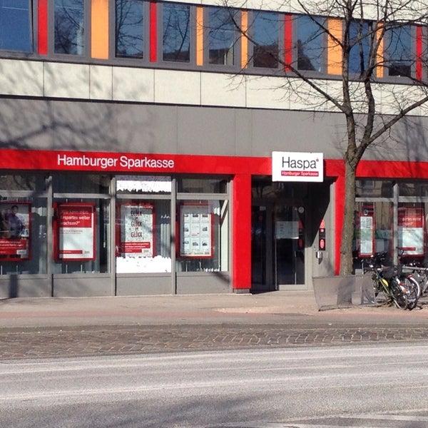 Haspa einzahlungsautomat Hamburger Sparkasse