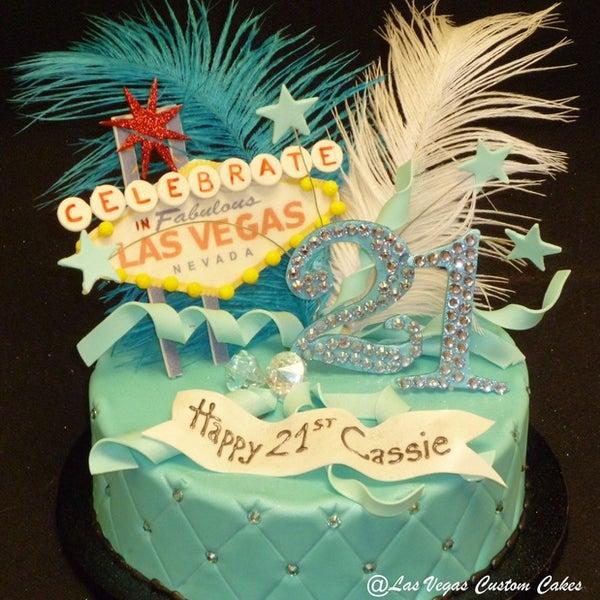 Photo Taken At Las Vegas Custom Cakes By Joe B On 8 23