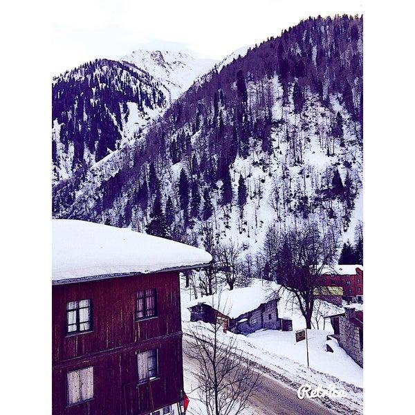 12/31/2016 tarihinde Şengül P.ziyaretçi tarafından Ayder Resort Hotel'de çekilen fotoğraf