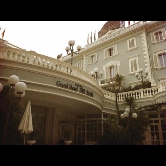 11/16/2012にdaddy s.がGrand Hotel Des Bainsで撮った写真