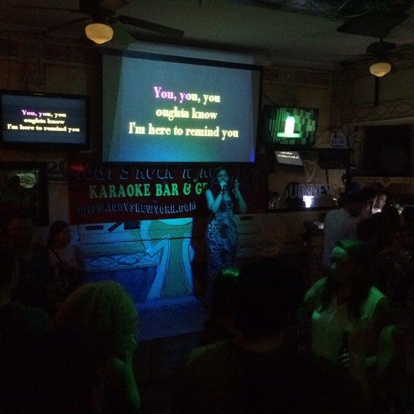 Good beers and great karaoke!