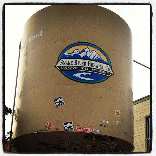 Das Foto wurde bei Snake River Brewery & Restaurant von Drew F. am 10/20/2012 aufgenommen