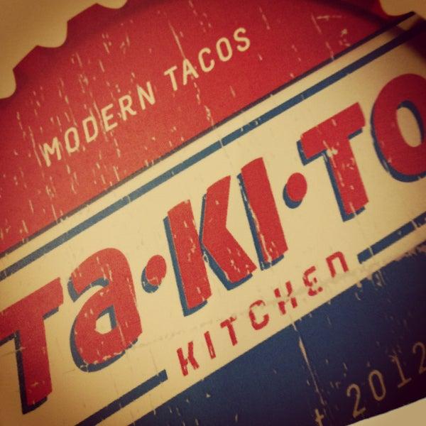 4/28/2013 tarihinde Brad C.ziyaretçi tarafından Takito Kitchen'de çekilen fotoğraf