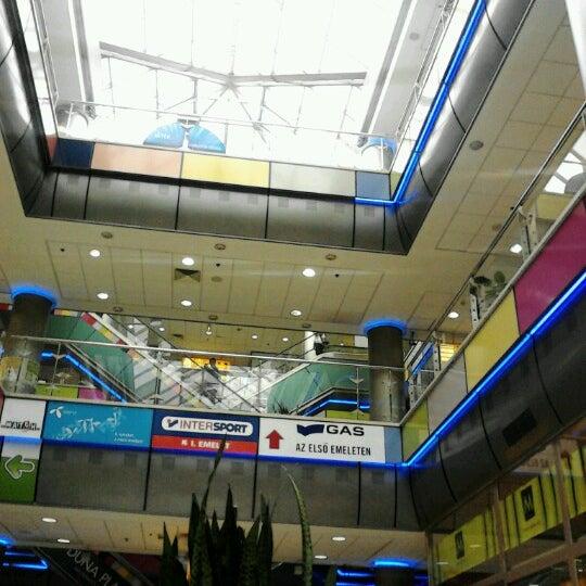 Photo taken at Duna Plaza by Csaba M. on 10 2 2012 300f30f522