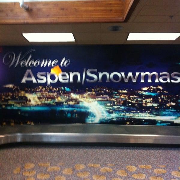 Photo prise au Aspen/Pitkin County Airport (ASE) par Ronnie K. le7/15/2013