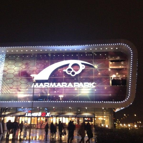 Снимок сделан в Marmara Park пользователем 😄😄😄 12/19/2012