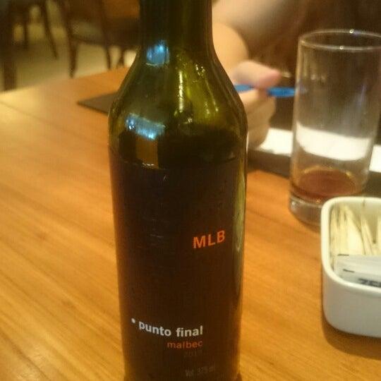 Ótimos vinhos, mezzaluna de carne com molho de fungi é show!